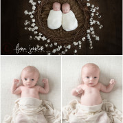ct newborn twins photographer