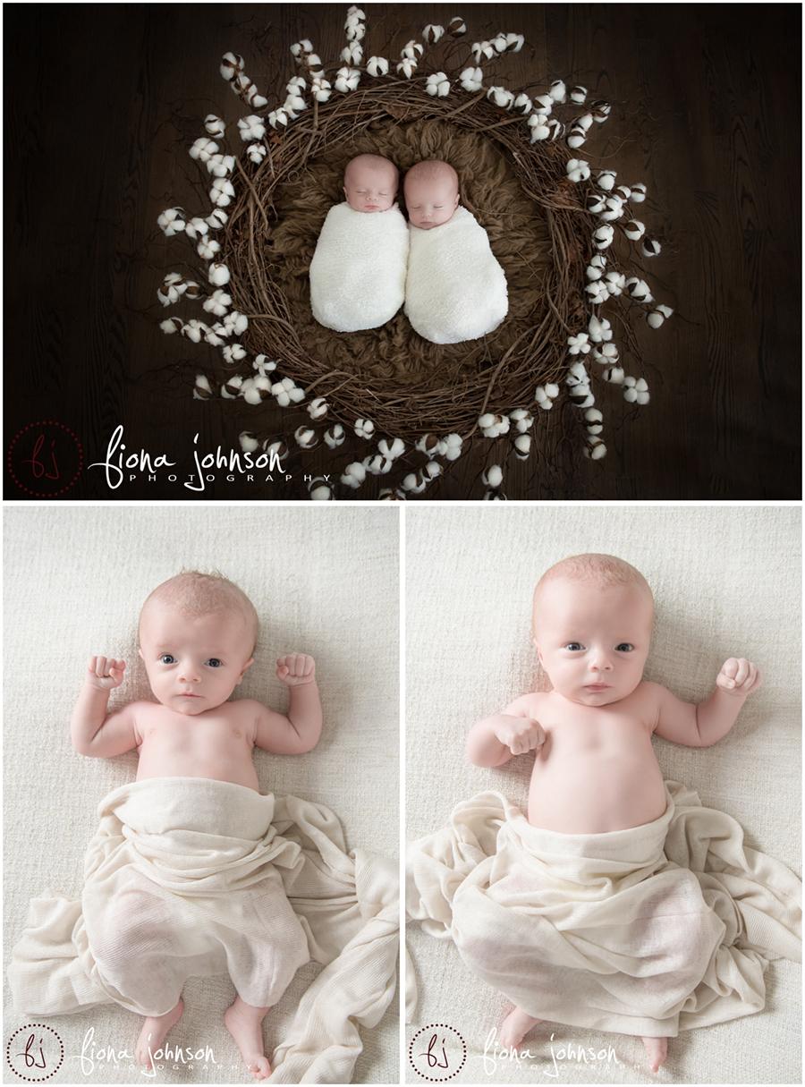 ct newborn twins photographer
