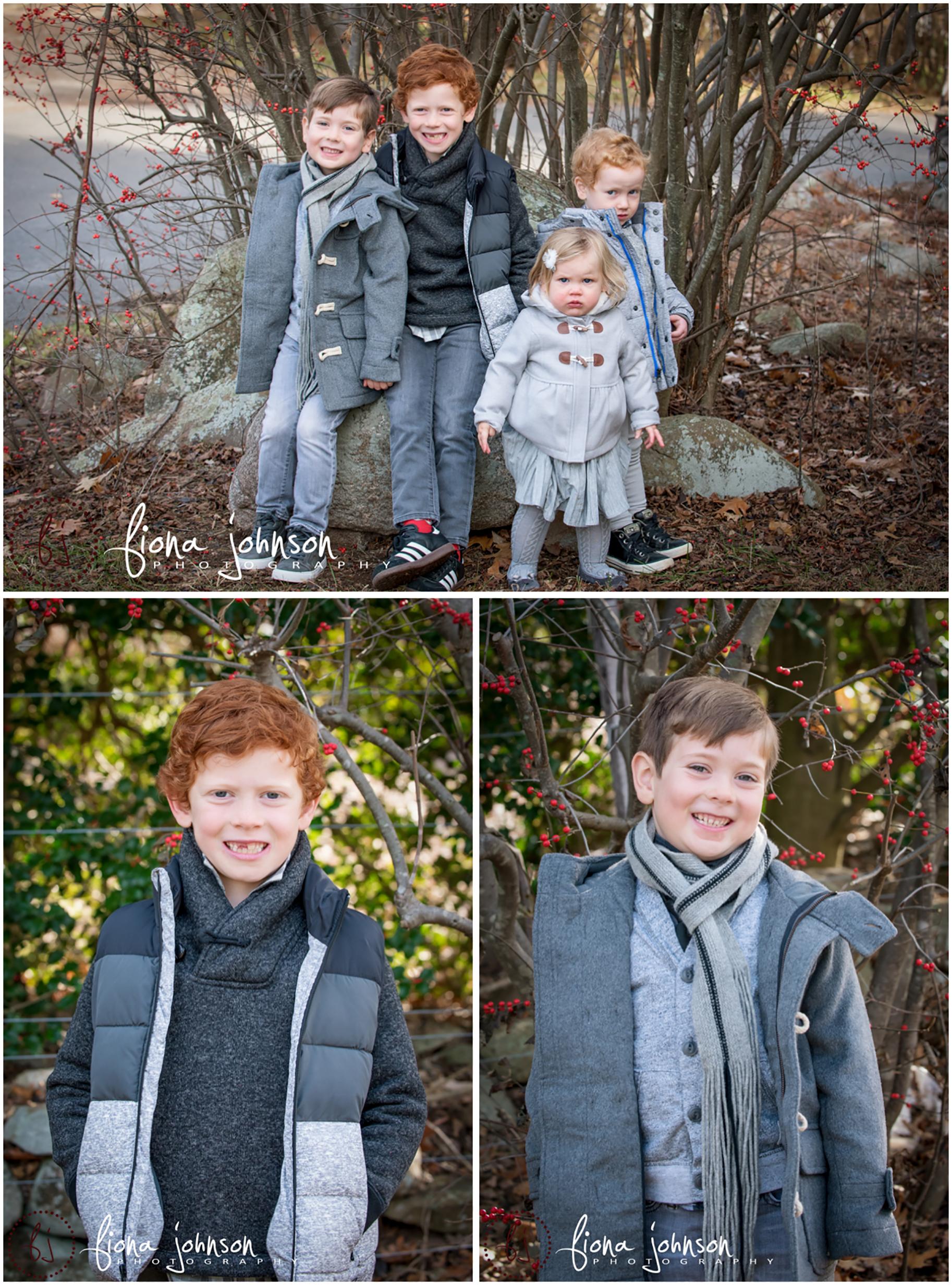 ct family tree farm photo session