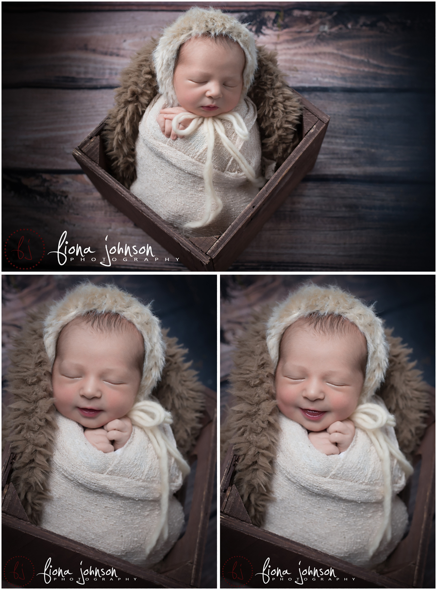 newborn photography session ct