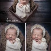 newborn photography session ct