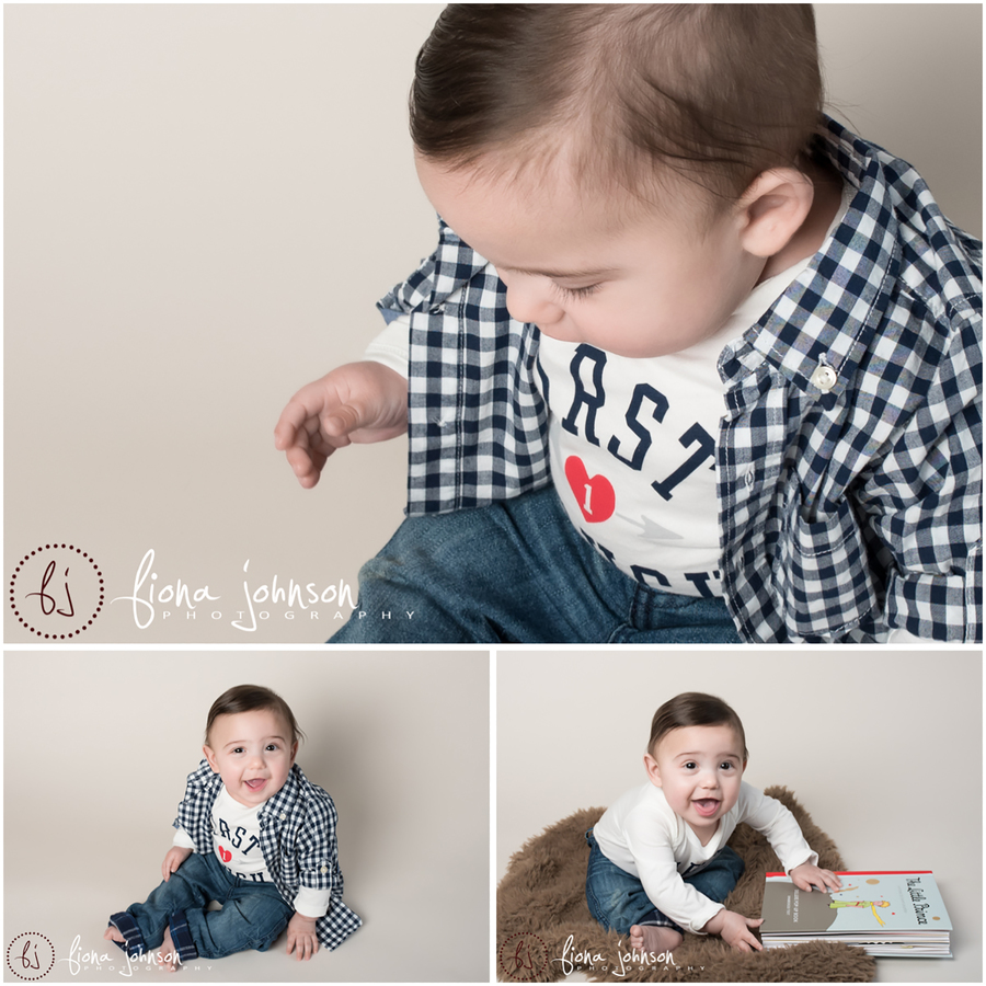 baby sitter photography session