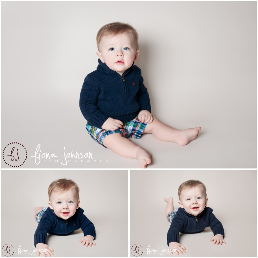 6 month old photo session
