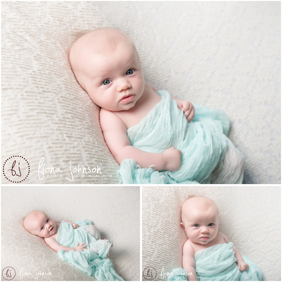 Baby photography session 3 month old noras baby milestones session